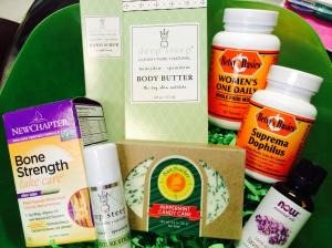What's inside our give away basket for Moms!