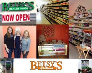 Betsy's 2nd location at Fallbrook Drive and 1960 opened this August.