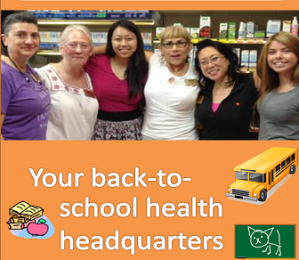 Betsy's is your back-to-school health headquarters