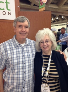 Betsy with Nutraceutical's Bill Hughes.