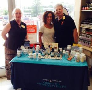 Nordic Naturals demo in August
