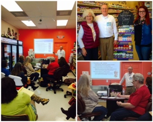 Betsy's Health Foods welcomed Dean Morris of Nature's Way for special immune training in late January.