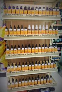 Betsy's Basics now has essential oils and tinctures.
