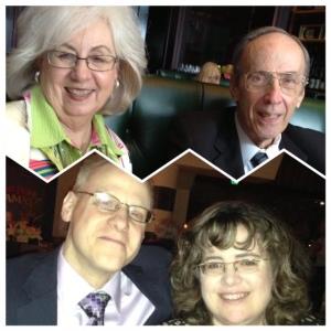 The Billingslea family: Betsy, Richard, John and Ramona