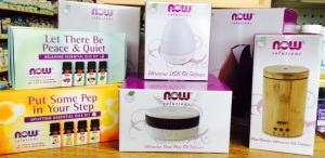 Betsy's Health Foods offers a variety of essential oils and diffusers for your holiday shopping needs.