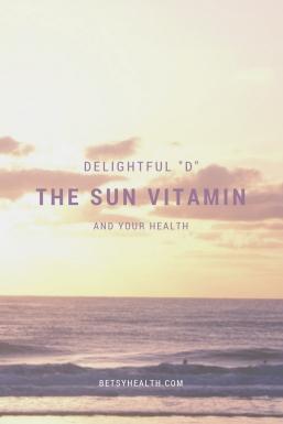 The Sun Vitamin