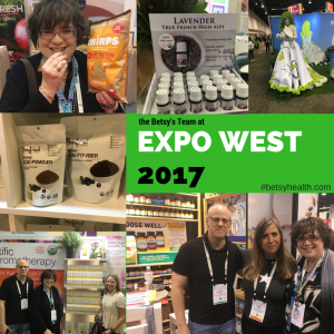 the Betsy's team at ExpoWest 2017