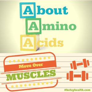 Amino Acids benefit more than your muscles