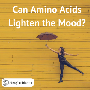 Certain amino acids may help lighten mood