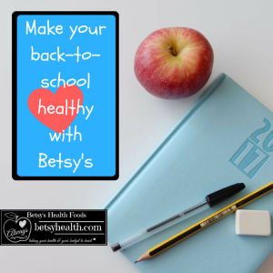 back-to-school success with Betsy's