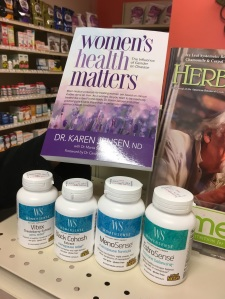 Buy a WomenSense Product and receive a free book while supplies last