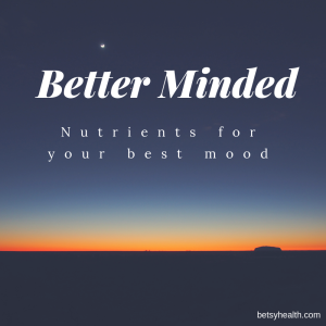 Nutrients for your best mood