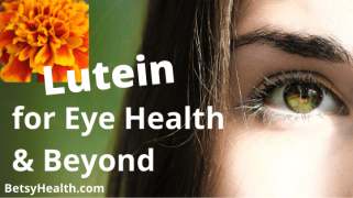 Lutein for more than eye health